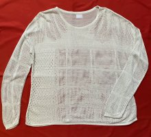 Lala Berlin Crewneck Sweater oatmeal viscose