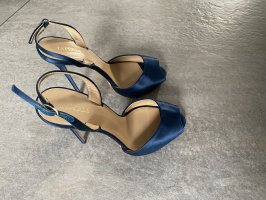 La perla Tacones altos azul-violeta azulado