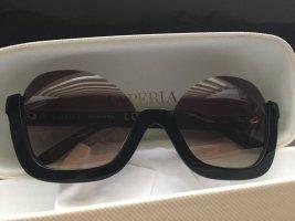 La perla Okulary motylki czarny-czarno-brązowy