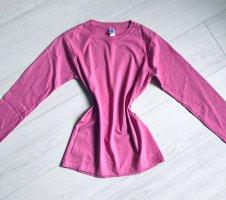Gildan Longsleeve pink cotton