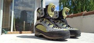 La Sportiva Lace-up Boots multicolored leather