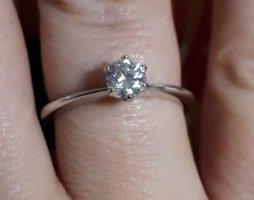 Labor-hergestellter Diamant von Diamonique,  Gr. 18