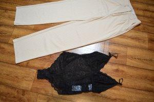Lace Bodysuit Pamela x NA-KD, Schwarz 38