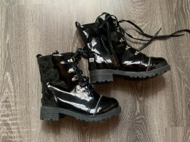 Aanrijg laarzen zwart