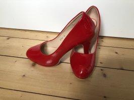 Bello Star Tacones con plataforma rojo