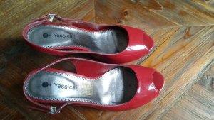 C&A Yessica Slingback Pumps dark red