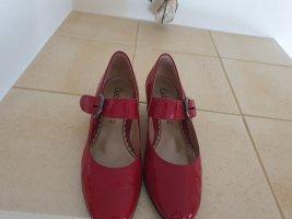 Gabor Comfort Mary Jane Ballerinas red