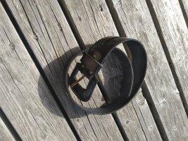 Unbekannte Marke Faux Leather Belt black