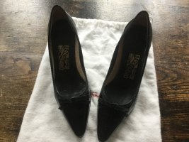 Ferragamo Zapatos de punta negro