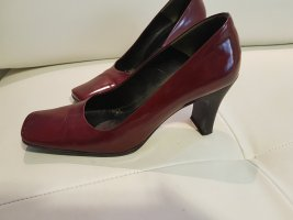 Lackpumps bordeaux Gr. 36