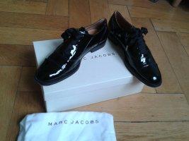 Marc Jacobs Zapatos brogue negro Cuero