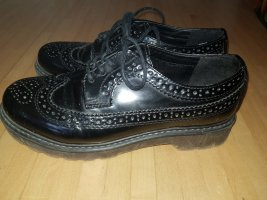 unknown Wingtip Shoes black