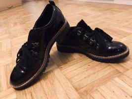 Deichmann Lace Shoes black