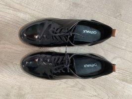 Catwalk Chaussures à lacets noir-bronze