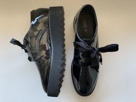 OVS Lace-Up Sneaker black