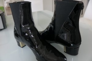 AGL Bottines noir cuir