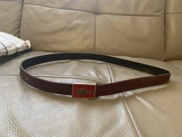 Lacoste Leather Belt brown