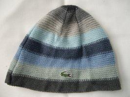 Lacoste: Mütze Grau- und Blautönen (ca.48/49cm)