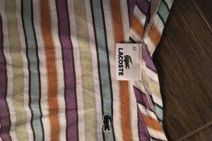 lacoste shirt gr 42 bunt