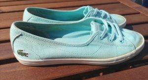 Lacoste Sneaker hellblau Größe 39 Ortholite