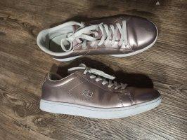 Lacoste Sneaker Metallic Rosegold Gr. 41