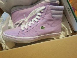 Lacoste High Top Sneaker purple-lilac