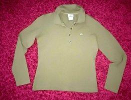 Lacoste Stretch Poloshirt Gr. 40 olivgrün