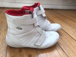 Lacoste Zapatillas con hook-and-loop fastener blanco Cuero