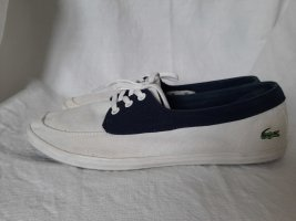 Lacoste Ziane Boat Canvas Sneakers