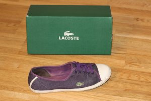 """Lacoste """"Ziane"""" Sneaker in lila"""