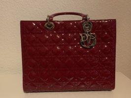 Lady Dior aus Lackleder