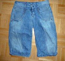 Herrlicher Jeans a 3/4 blu pallido-azzurro Cotone