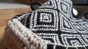 C&A Espadrillas nero-bianco Cotone