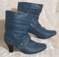 Kayla Slouch Booties blue