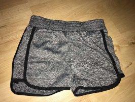 Hailys Sport Shorts black-grey
