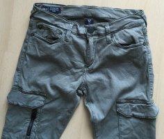 True Religion Jeansy o obcisłym kroju jasnoniebieski Bawełna