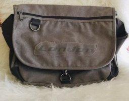 Crossbody bag grey brown-black