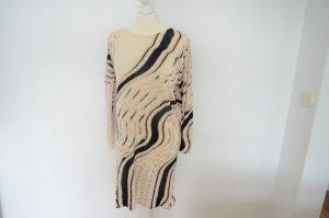 Lala Berlin Robe en maille tricotées blanc cassé laine