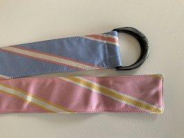 La Martina Cintura in tessuto multicolore