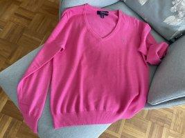 Gant Maglione di lana magenta Lana
