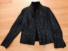 Gaddis Military Jacket black brown-dark brown