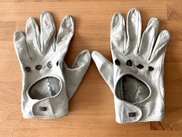 Roeckl Leather Gloves sage green