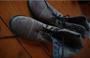 Landrover Schürstiefeletten Boots Gr. 41 beige