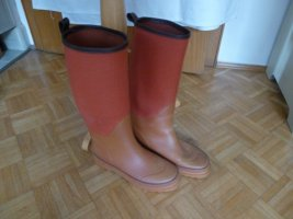 Lands' End Wellies dark orange