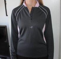 Débardeur de sport gris foncé-rose