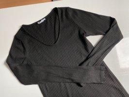 New Yorker Camisa acanalada negro