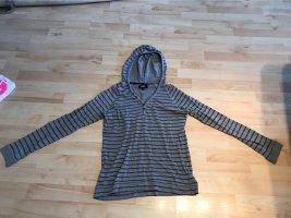 Colorado Denim Camicia con cappuccio grigio-blu scuro