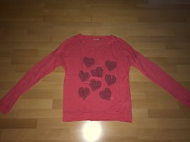 Langarm Shirt Only Pink in Größe M