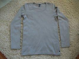 Langarm T-Shirt von CECIL, Gr. 36, grau