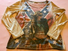 Chilli Camicia fantasia multicolore Viscosa